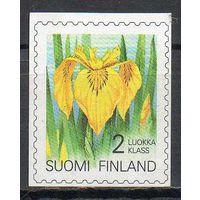Флора Цветы Финляндия 1993 год серия из 1 б/з марки