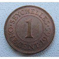 Сейшельские острова 1 цент 1965