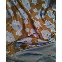 Отрез винтажной ткани с люрексом, 150 х160см