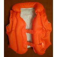 Жилет для плавания для ребенка до 25 кг (для купания, спасательный, плавательный, детский)