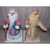 Дед мороз из ваты, ватный дед мороз, папье маше
