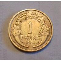 1 франк, Франция 1934 г.