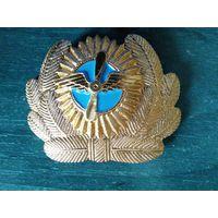 2кокарды -Гражданская авиация СССР + крылышки на тулью фуражки .