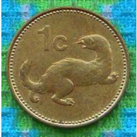 Мальта 1 цент 1995 года. Оливки. АU. Подписывайтесь! Много новых лотов в продаже!!!