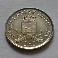 25 центов, Нидерландские Антильские острова, (Антиллы) 1983 г.