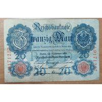 20 марок 1914 года - Германия (Ro.47b)