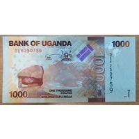 1000 шиллингов 2017 года - Уганда - UNC