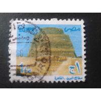 Египет 2002 пирамида Mi-0,9 евро гаш.