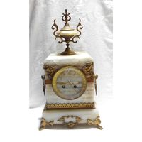 Часы каминные Братья Жапи Часы настольные Подчасник Франция JAPY FRERES 1867 год Под реставрацию