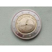 2 евро 2016 Литва Балтийская культура