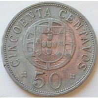 10. Ангола 50 сантимов 1928 год*