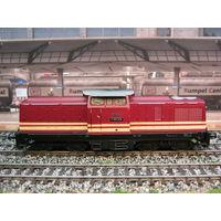 Дизельный локомотив V100 Gutzold. Масштаб НО-1:87.