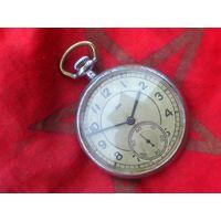 Часы ЧК- 6 ЗИМ из СССР 1947 года, ТРЁХКРЫШЕЧНЫЕ, ВИНТАЖ
