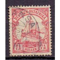 Германия Восточная Африка 7 1/2 гел Wz 1 ГАШ 1906-1920 гг
