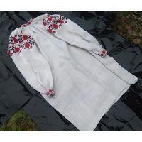 Сорочка домотканая льняная (рубашка, вышиванка), п.п. 1920-х гг.