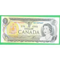 Канада. 1 доллар 1973 года, UNC