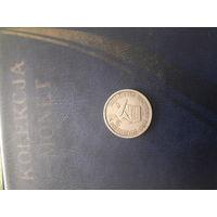 ЮЖНАЯ РОДЕЗИЯ 1 шиллинг 1947 год
