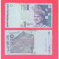 Банкнота Малайзия 1 ринггит (2000) UNC ПРЕСС бумага