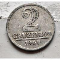 Бразилия 2 крузейро, 1960 1-5-16