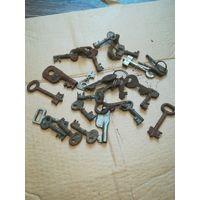 Ключи  от замков