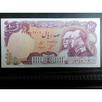 Иран 100 риал юбилейная банкнота
