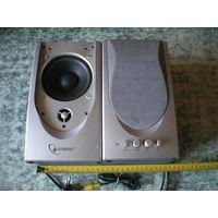 Колонки Gembird WCS-602G, 10+10 Вт, б/у, без пролем.