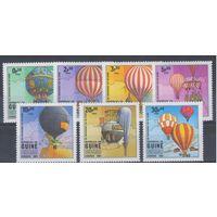 [1801] Гвинея-Бисау 1983. Авиация.Воздушные шары.