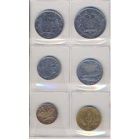 Италия комплект монет (6 шт.) 1940-1942г. скидки.