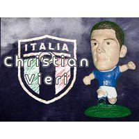 Christian Vieri Италия 5 см Фигурка футболиста MC480