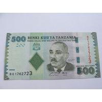 Танзания. 500 шилингов 2010 год  UNC