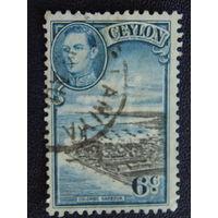 Британская колония 1938г. Цейлон. Георг VI.