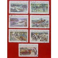 Вьетнам. Лесная промышленность. ( 7 марок ) 1968 года.
