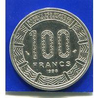 Центральная Африка 100 франков 1998