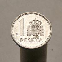 Испания 1 песета 1988