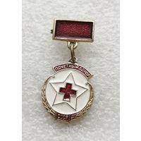 Почетный донор СССР (маленький). Медицина. Здравоохранение #0073-OP02
