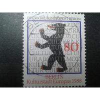 Берлин 1988 герб Берлина Михель-2,5 евро гаш.