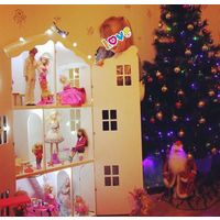 Огромный дом для куклы барби 115х64х31