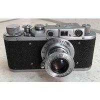 Фотоаппарат ФЭД 1955 г. с объективом Индустар-10 (ФЭД) с паспортом полностью готовый к съёмке