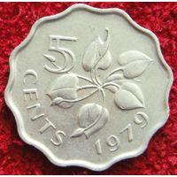 7974:  5 центов 1979 Свазиленд