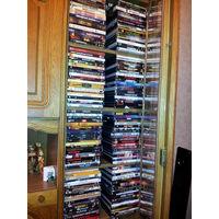 Фильмы на DVD коллекция 337 штук САМОЕ ЛУЧШЕЕ !!! + стойка на 43 диска
