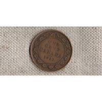 Канада 1 цент 1913 Георг V (Zo)