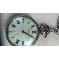 Часы карманные Молния на цепочке