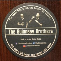 Подставка под пиво The Guinness Brothers