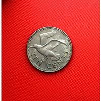 54-23 Барбадос, 10 центов 1987 г.