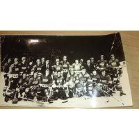 Фотография хоккейной команды СССР. Звезды хоккея СССР