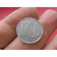 Чехословакия 10 h (haleru, halierov, халеров) 1976 года - единственная такая монета на ау - поэтому с торгом!!!