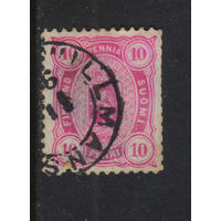 Россия Имп Великое княжество Финляндское 1885 Герб Стандарт #21