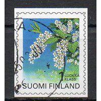 Флора Цветы Финляндия 1997 год серия из 1 б/з марки