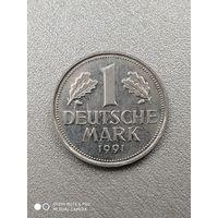 1 марка 1991 (A).