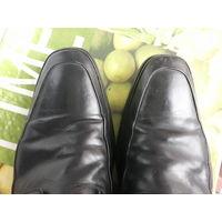 Ботинки туфли  мужские черные 45 размер